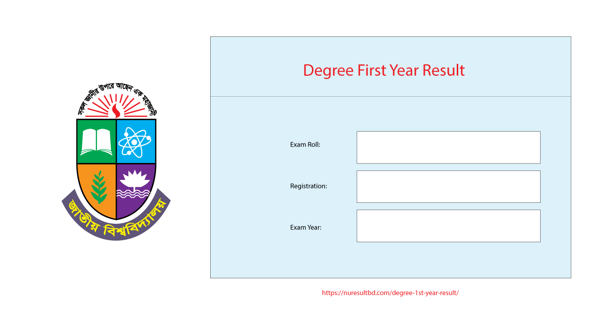 Degree 1st Year Result