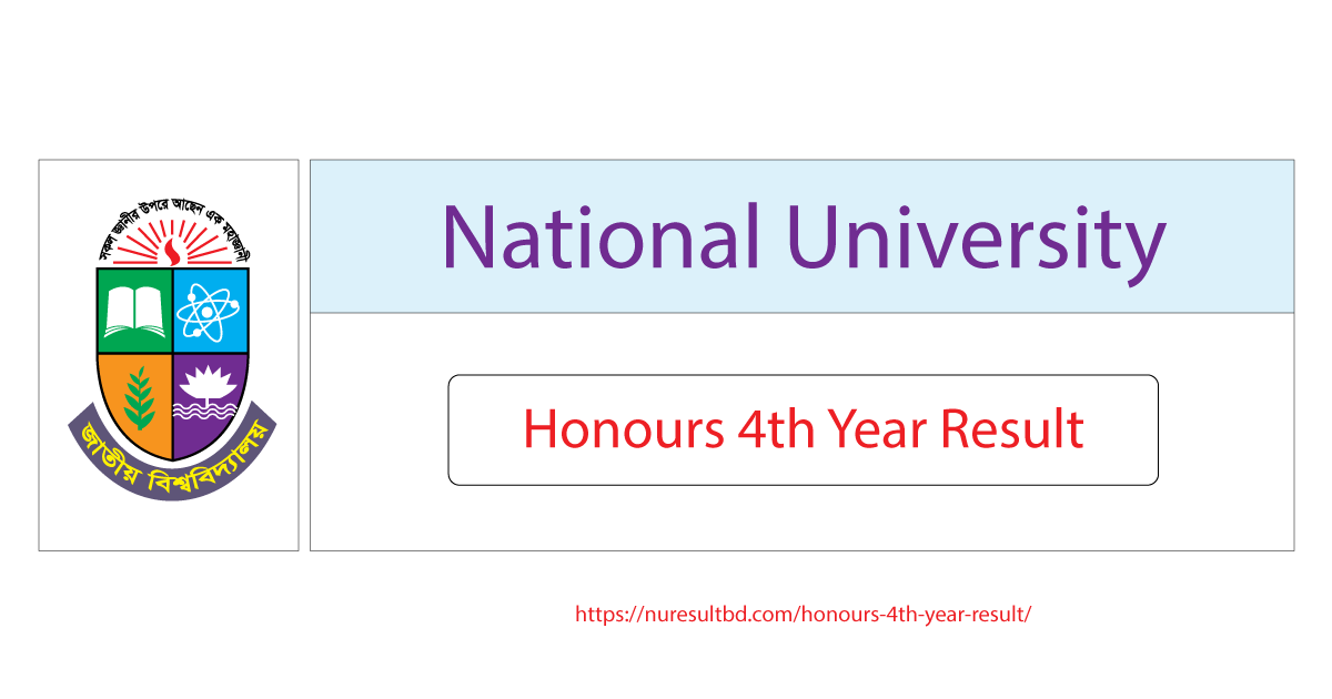 NU Honours 4th Year Result